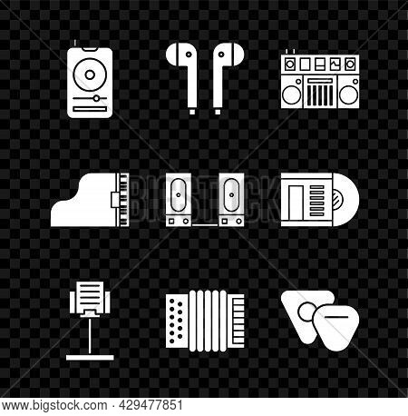 Set Music Player, Air Headphones, Dj Remote For Playing And Mixing Music, Stand, Musical Instrument