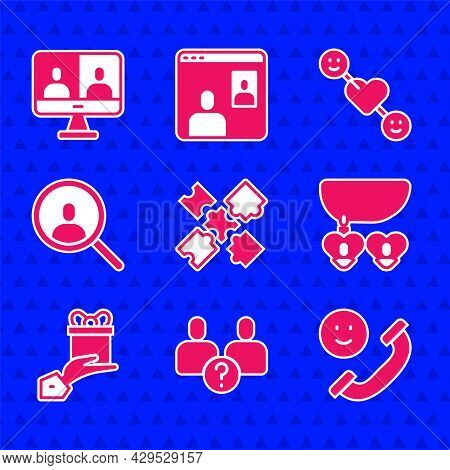 Set Puzzle Pieces Toy, Complicated Relationship, Incoming Call Mobile, Necklace With Heart Shaped, G
