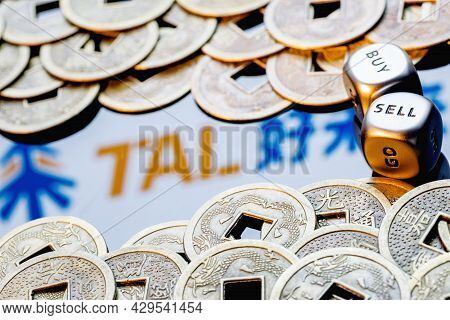 Kazan, Russia - August 10, 2021:  Tal Education Group Is A Chinese Company That Offers After-school