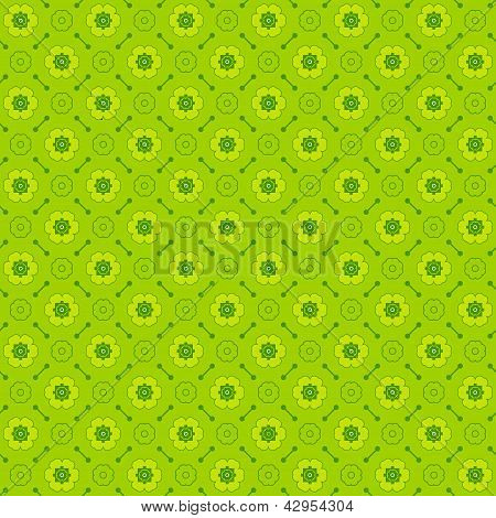 Seamless geometric pattern made with monochrome elements vector background poster