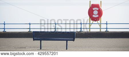 Red Buoy Life Safety Ring Attach Esplanade
