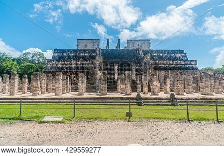 Chichen Itza. Yucatán State, Mexico. The Ruins Of One Of The Largest Ancient Maya City.