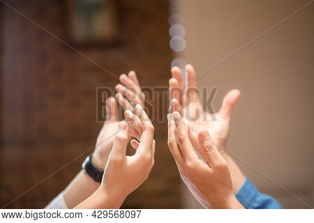 Praying Hands With Faith