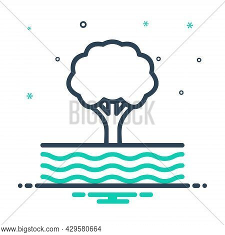 Mix Icon For Edge Tree Wave Flow Stream Current Clause Torrent