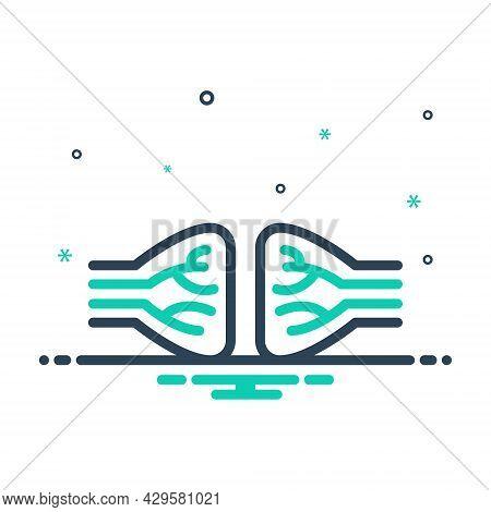 Mix Icon For Nerve Jitters Veins  Vena Artery Structure Bone Neuron Anatomy Biology Impulse