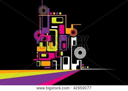 vector illustration of colorful background for Holi wallpaper poster