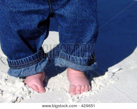 Sand In meinen Zehen