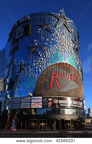 LAS VEGAS - DEC 27: LasVegas hotels and casino on December 27, 2012 in Las Vegas. 2012 hit record number of visitors over 39.7million.
