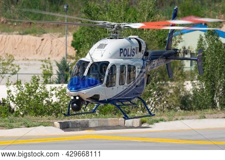 Turkish Police Aviation Bell 429