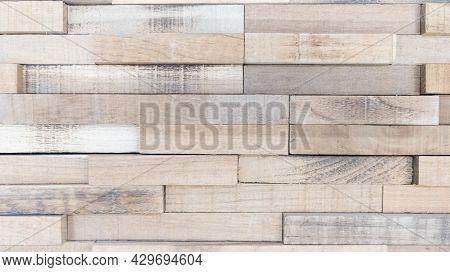 Wood Texture Plank Wall Background Wooden Construction Planks Brown