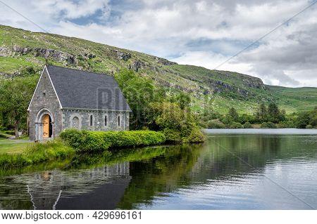 Ballingeary, Ireland- July 11, 2021: The Small Church At St Finbarr's Oratory