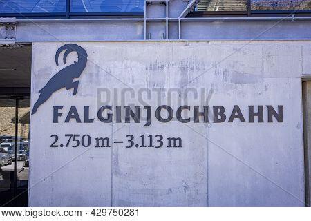 Falginjoch Ropeway At Kaunertal Valley In Tyrol Austria - The Austrian Alps - Kaunertal, Austria - J
