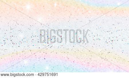 Pastel glittery rainbow background wallpaper