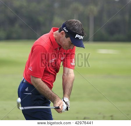 Mark Wilson at The Players Championship 2012