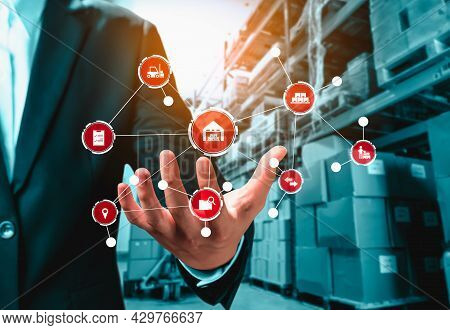 Smart Warehouse Management System With Innovative Internet Of Things Technology To Identify Package