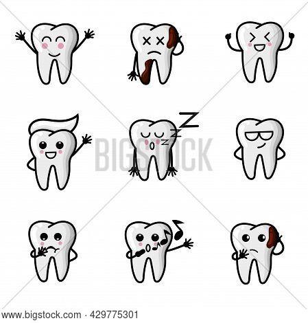 4 Teeth Character