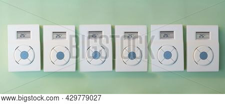 Remote Air Conditioner, Many Adjusting Temperature Thermostat 25 Degrees Remote Control Switch Of Th