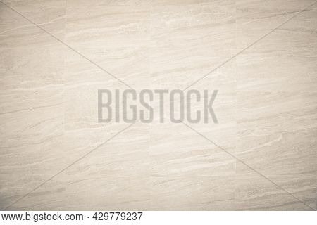 Cream Concreted Wall For Interiors Or Outdoor Exposed Surface Polished Concrete. Cement Have Sand An