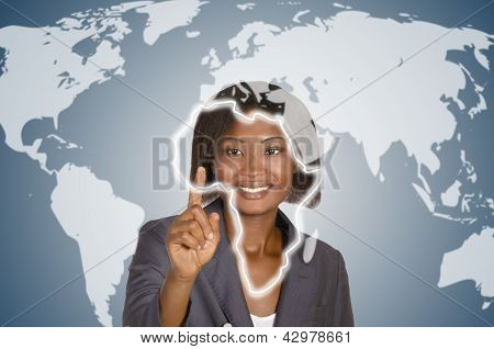 Africam Business Woman, Social Network