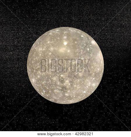 Callisto Planet - 3D Render