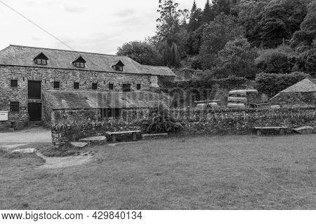 Cotehele Quay.cornwall.united Kingdom.july 23rd 2021.the Discovery Centre At Cotehele Quay In Cornwa