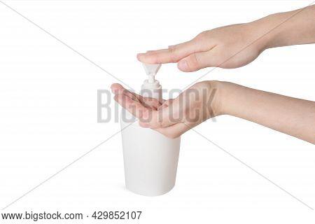 Hand Antibacterial Sanitizer Dispenser Pump, Alcohol Gel To Wash Hands, Liquid Soap To Clean Hands F