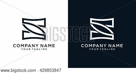 Initial Letter S Logo Design Concept. S Vector. S Icon. S Symbol