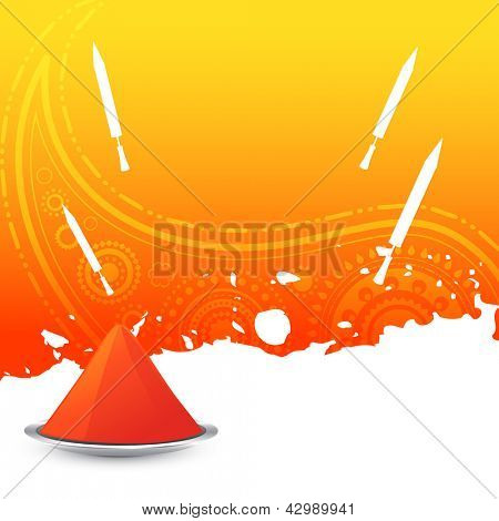 beautiful colorful holi background design illustration poster