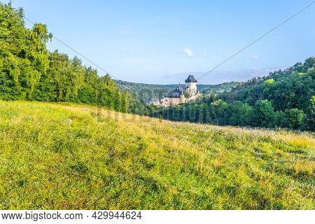 Karlstejn - Gothic Royal Castle In Central Bohemia Founded In 1348 By Charles Iv, Holy Roman Emperor