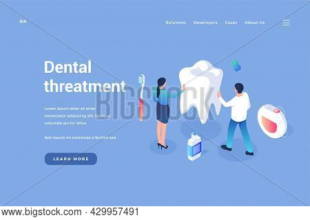 Care And Treatment Of Dental. Prophylaxis Of Oral Cavity And Removal Calculus. Stomatology Whitening