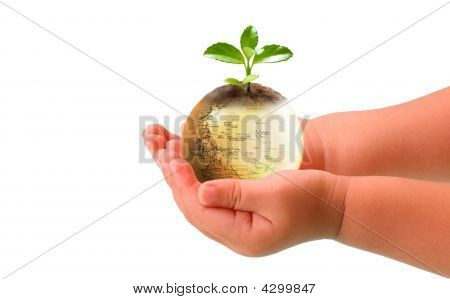 Baby And Earth