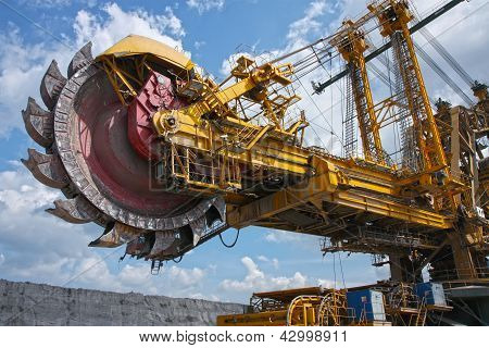 Huge Mine Excavator For Brown Coal