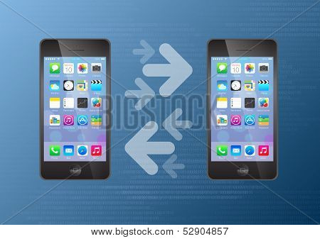 Mobile Data and Content Transfer Phone to Phone