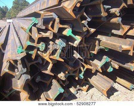 Used railroad rails