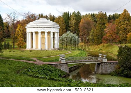 The Temple of Friendship in Pavlovsk Park (1780) Russia poster