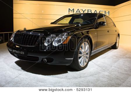 Moscow, Russia - 28 August, 2008: Maybach At Moscow International Exhibition Motorshow 2008, Moscow,
