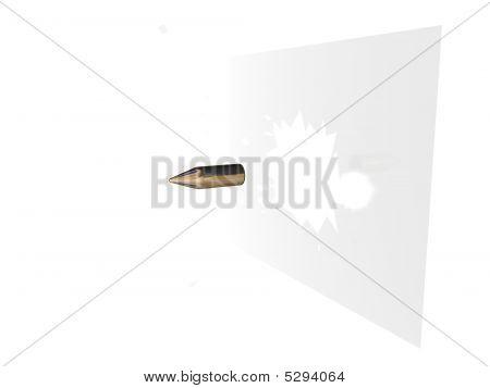 Bullet Throught Glass