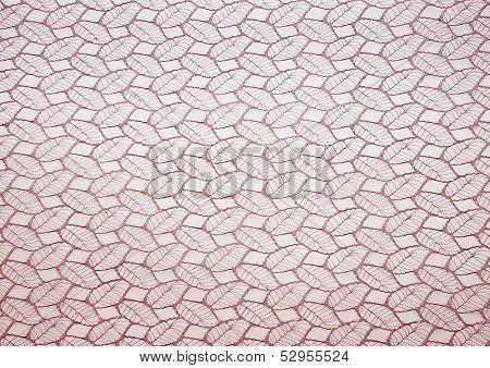 Leaf textured fabrique