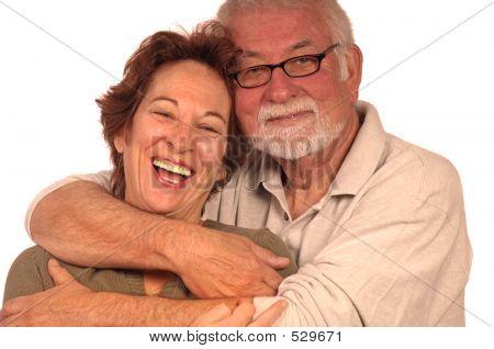 Gelukkig verliefde paar