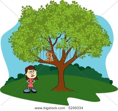 Cat Up A Tree.ai