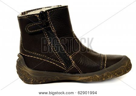 Boot isolated on a clean white background.