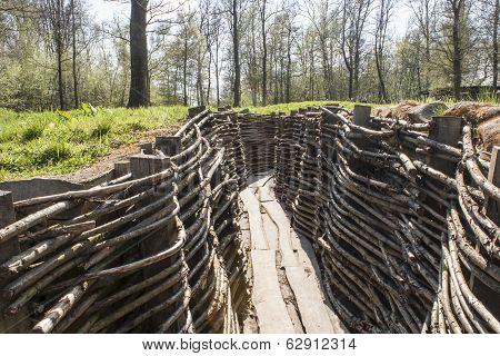 Bayernwald Trenches World War One Flanders Belgium