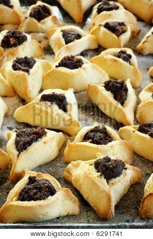 Jewish traditionnal pastries for Purim