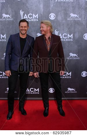 LAS VEGAS - APR 6:  Philip Sweet, Jimi Westbrook at the 2014 Academy of Country Music Awards - Arrivals at MGM Grand Garden Arena on April 6, 2014 in Las Vegas, NV