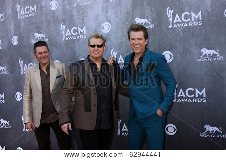 LAS VEGAS - APR 6:  Rascal Flatts at the 2014 Academy of Country Music Awards - Arrivals at MGM Grand Garden Arena on April 6, 2014 in Las Vegas, NV