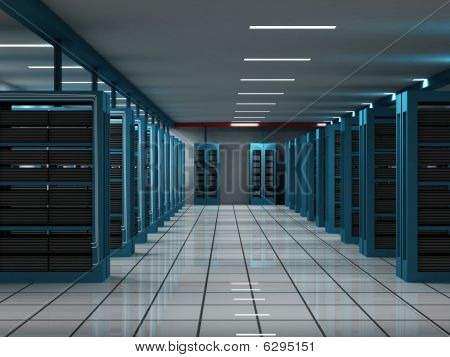 Hosting and servers room