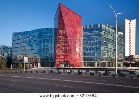 Ex building of the Belarus Potash Company, now office Development Bank, Minsk Belarus