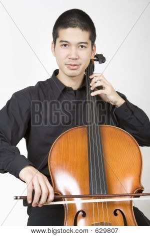 Asian Cellist 1