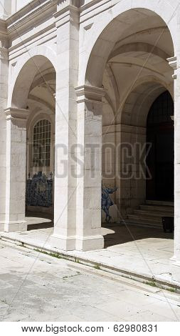 Monastery Of Saint Vincent Cloister, Lisbon, Portugal