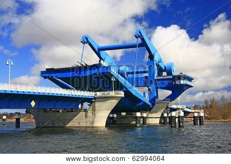 Lift Bridge at Wolgast, Germany